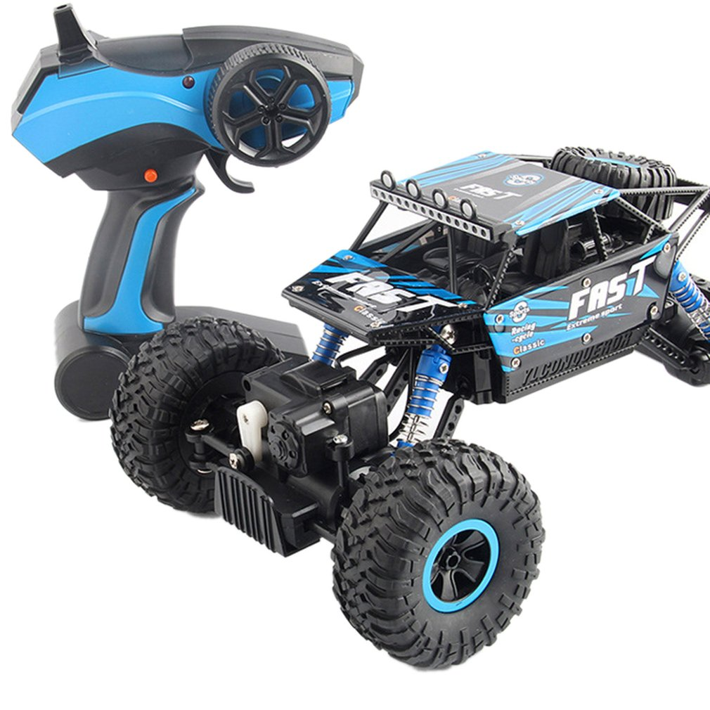YT-06 RC Car Large 2.4G 1:18 Vehicle Buggy 30KM/H High Speed Racing Car Remote Control Truck Four-wheel Climber Kids Boys Gifts