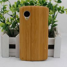 New Arrival ! Bamboo Wood Case For LG Google Nexus 5 ! Pretty Good Quality with Vintage Style! Free Shipping!