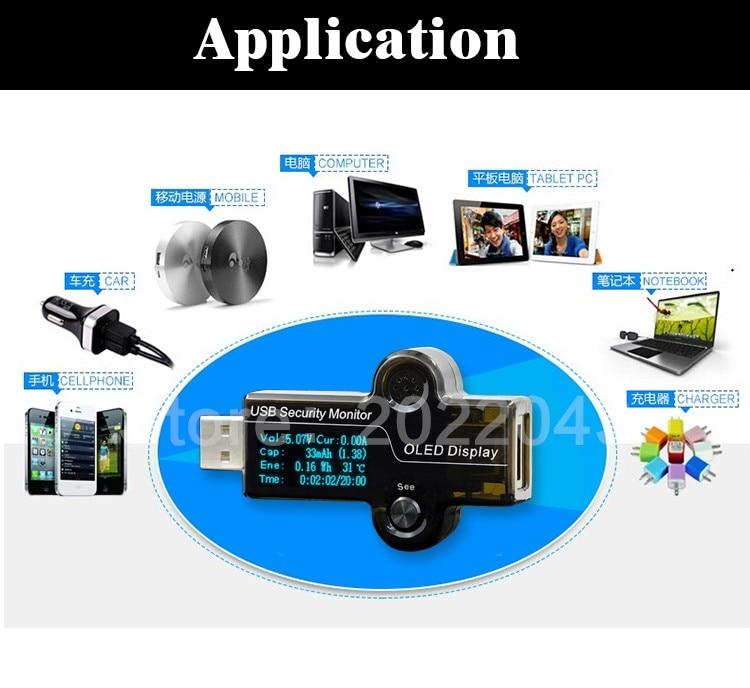 HiDANCE Tester per monitor di sicurezza OLED USB Misuratori di - Strumenti di misura - Fotografia 3