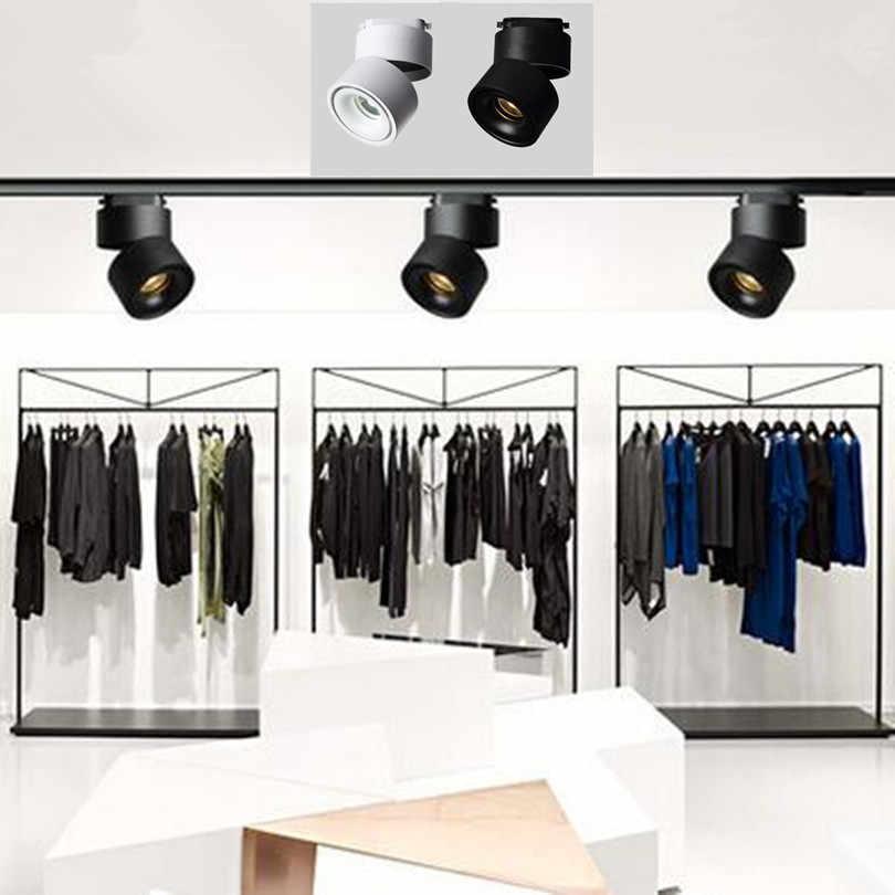 Бесплатная доставка COB 10 Вт 15 Вт 20 Вт Светодиодный светильник с регулируемым поворотом Светодиодный прожектор для дома магазин освещение для магазинов SNYKA