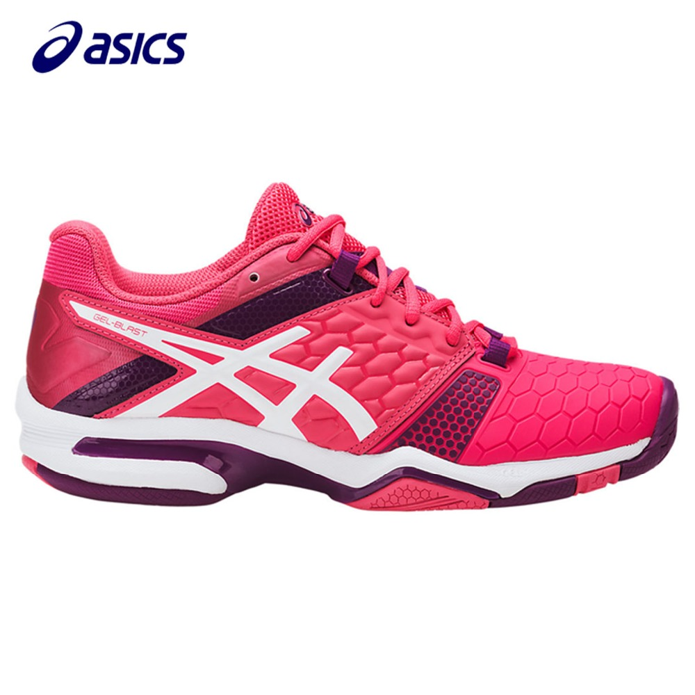 Orginal ASICS 2018 New Women Running Shoes  Breathable Stable Shoes outdoor Tennis shoes classic Leisure Non-slip E658Y-1901