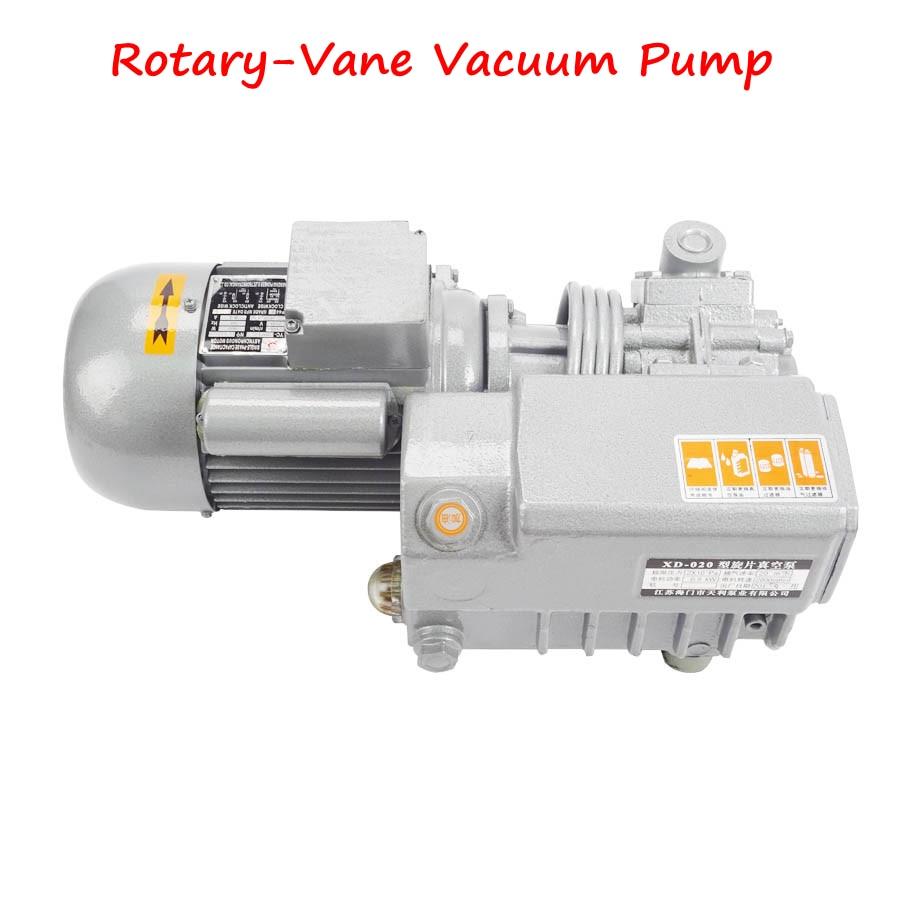 Pompe à vide rotative à palettes pompe d'aspiration à vide petite pompe à vide pour Machine de gravure/Machine à emballer XD-020