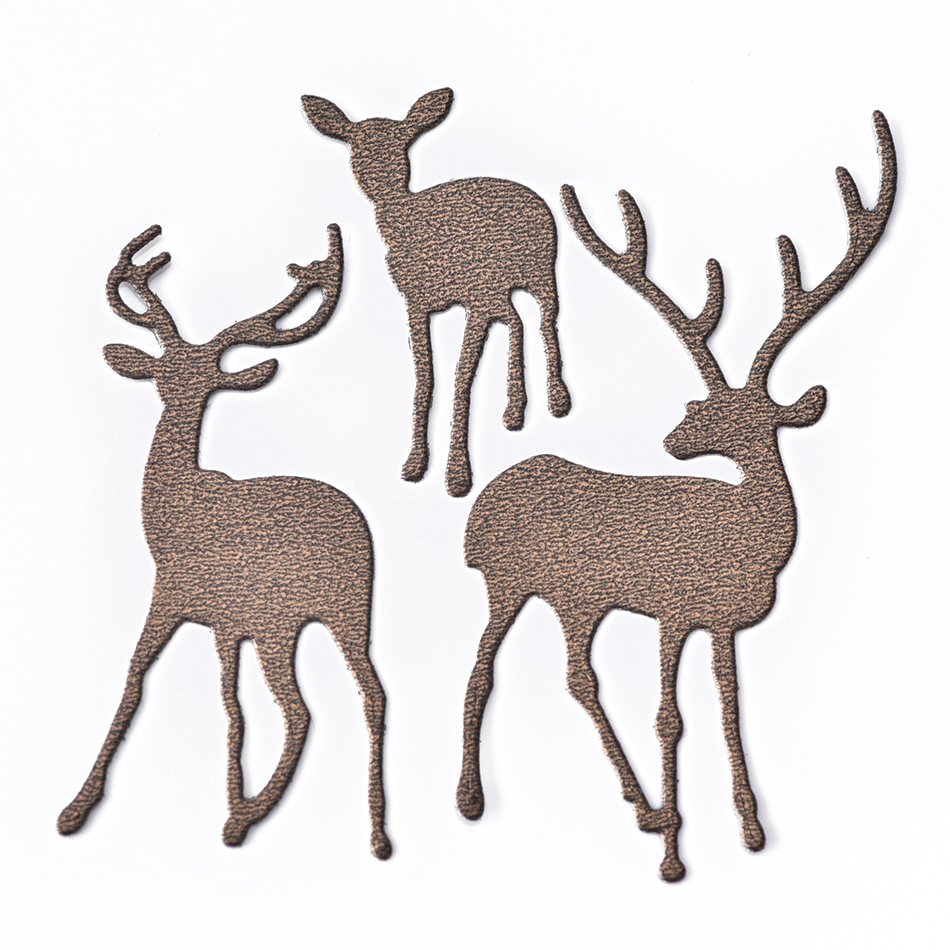 Deer Family Metal Cutting Dies Scrapbooking Stencils DIY Paper Card Craft Decor