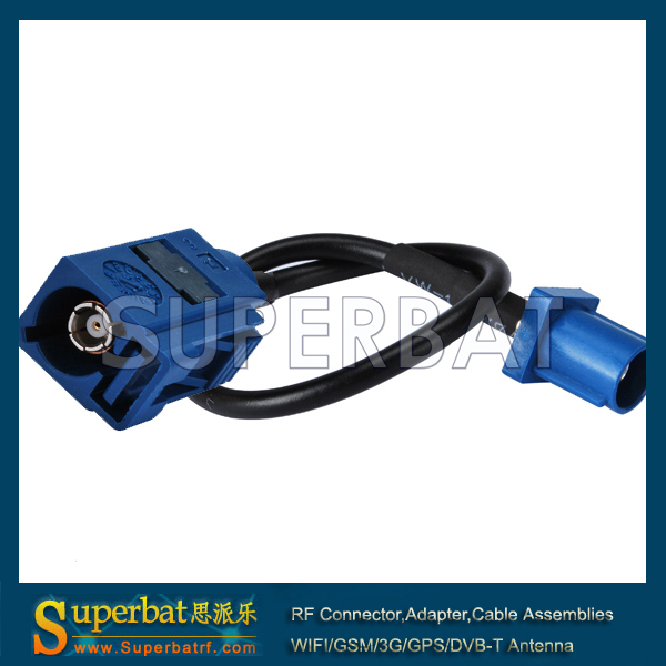 Superbat 15ft GPS antenna Extension cable Fakra C male plug to female Jack 5m For Telematics