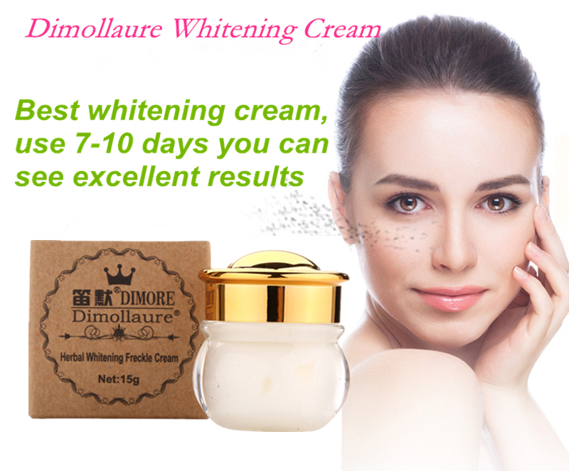 2pcs Dimollaure Whitening Freckle Cream Remove Melasma Acne Spots