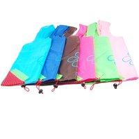 Wholesale 5 AUAU Colorful Unique Strawberry Folding Reusable Compact Eco Shopping Bag Nylon