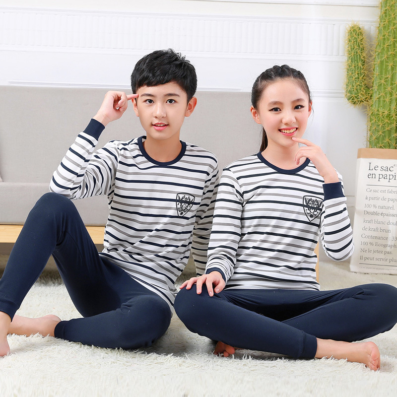 Trousers Suits Underwear Children's Cotton Pure And Wholesale Manufacturers
