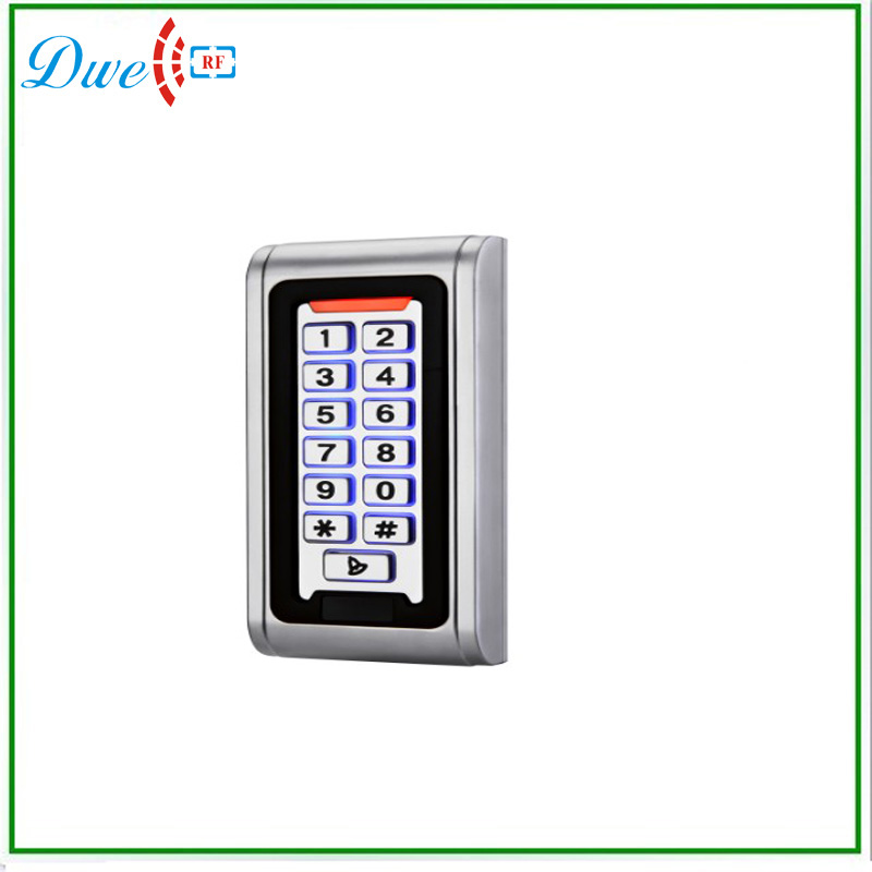 ФОТО Waterproof metal standalone access controller, single door rfid card reader