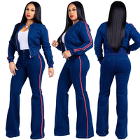 matching sets two piece set top and pants fashion 2 piece outfits for women clothes street wear rave festival tracksuit women