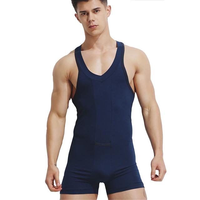 KWAN.Z corset erkek korse Men T-shirt hot body shaper men cotton vest bodysuit men tights clothes underwear men gilet shapewear