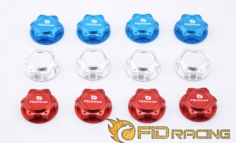 Losi 5IVE-T Wheel nut (rc car parts ,toy) losi 5t spare parts cnc rear wheel bearing kit for losi 5ive t silver blue choose