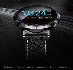 S2 tętno Sport smart watch dla androida iOS telefon komórkowy Bluetooth smart watch mężczyźni cyfrowy ciśnienia krwi smart watch es w Zegarki cyfrowe od Zegarki na
