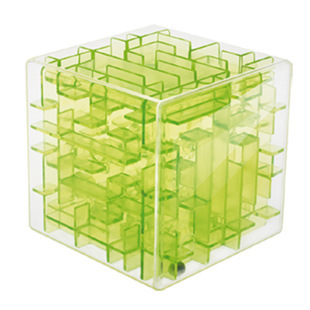 9.5*9.5cm 3D Three-dimensional magic cube maze cube toys elderly adult toys early childhood educational toys intelligence toys