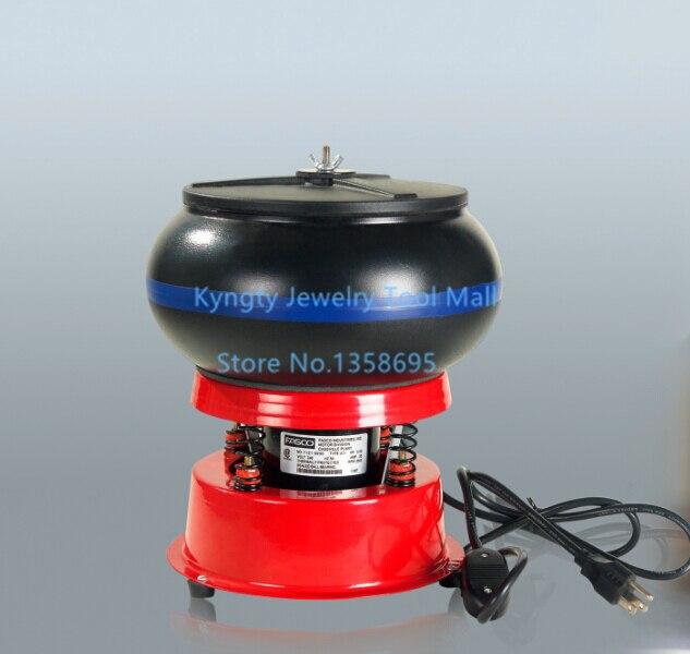 Free Shipping Lapidary Tools 220V Vibration Tumbler 8 Barrel Polishing Machine Jewelry Tumbling Polishing Machine