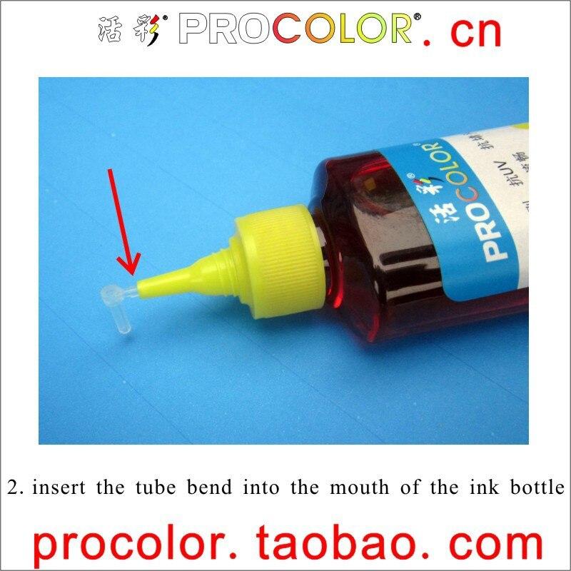 PROCOLOR XP 16 # (T1661, T1662, T1663, T1664, T1671) encre de recharge dencre CISS spéciale pour EPSON ME-10 ME 10 ME10/ME-101 ME 101 ME101