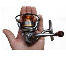 Lizard Fishing 6 Bearings Mini in Palm 5.2:1 Ratio Nylon 66 + Glass Fiber Material Mini Ice Fishing, Rock & Lure Fishing reel