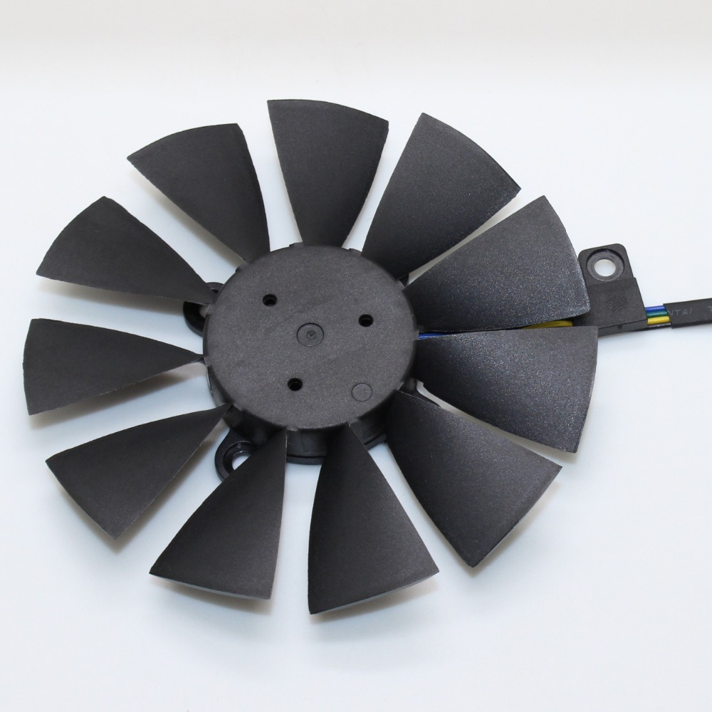 87MM T129215SU Cooling Fan Replace For ASUS Strix GTX 1060 OC 1070 GTX 1080Ti RX 480 Graphics Card Fans image
