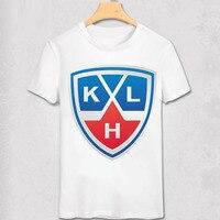 KHL League T Shirt Lokomotiv Yaroslavl Ak Bars Kazan Dinamo Riga Moscow Club Team Logo Print