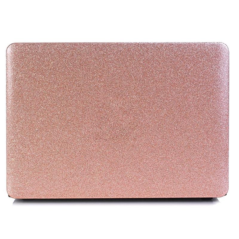 promo code 767ca c87af Bling Glitter Case for Apple MacBook Air Pro Retina 11 12 13 15 Hard  Transparent Laptop Cover for Mac book 13.3 15.4 inch Case