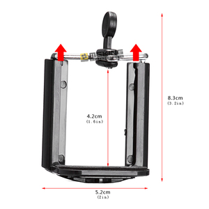 Image 5 - Camera Statief Houder Monopod Mobiele Telefoon Aanpassing Houder Stand Selfie Stick Mount Clips Beugel
