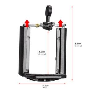Image 5 - カメラの三脚ホルダー一脚携帯電話調整ホルダースタンド Selfie スティックマウントクリップブラケット