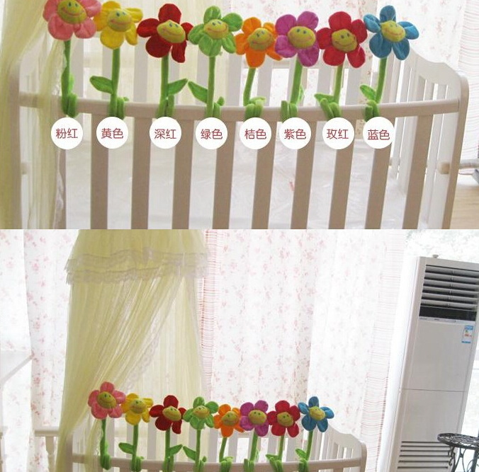 sun flower Plus Animals 35cm Special toy 1pcs wedding birthday gift plush toys curtains Home 10pcs