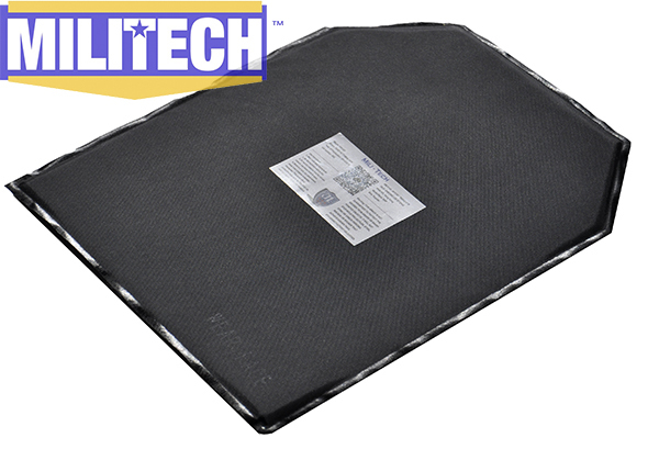 MILITECH 10'' x 12'' Shooters Cut Aramid Ballistic Panel Bullet Proof Plate Inserts Body Armor Soft Armour NIJ Level IIIA 3A bulletproof aramid ballistic panel bullet proof plate inserts body armor soft side armour panel nij level iiia 3a 5 x 8 pair
