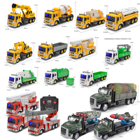 Children Toys Boy 1:16 RC Cars Radio Remote Control Car Model Kid Fire Truck/Excavator/Engineering Mixer/Military Truck Vehicle