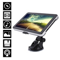 7 Inch Bluetooth Car GPS Navigation Built In Aerial Support Different Languages Touchscreen 3D Map View