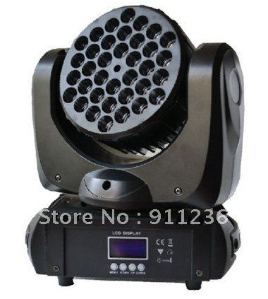 3w*36 cree led moving head light for stage