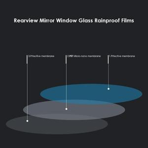 Image 5 - VODOOL 2Pcs רכב Rearview מראה עמיד למים סרט אופנוע אוטומטי היפוך מראה אטים לגשם אנטי ערפל אנטי בוהק קרום מדבקות