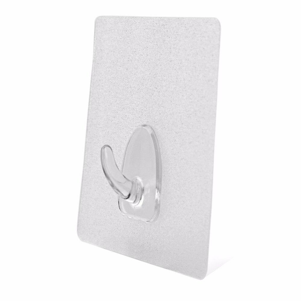 6 pz cuscinetto 3 kg trasparente senza soluzione di gancio adesivo impermeabile antiolio forte attaccare parete