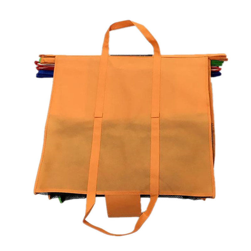 2a636c2f8 4PCS Set Shopping Cart Trolley Bags Foldable Reusable Grocery Shopping Bag  Eco Supermarket Bag Easy to Use and Heavy Duty Bolsas