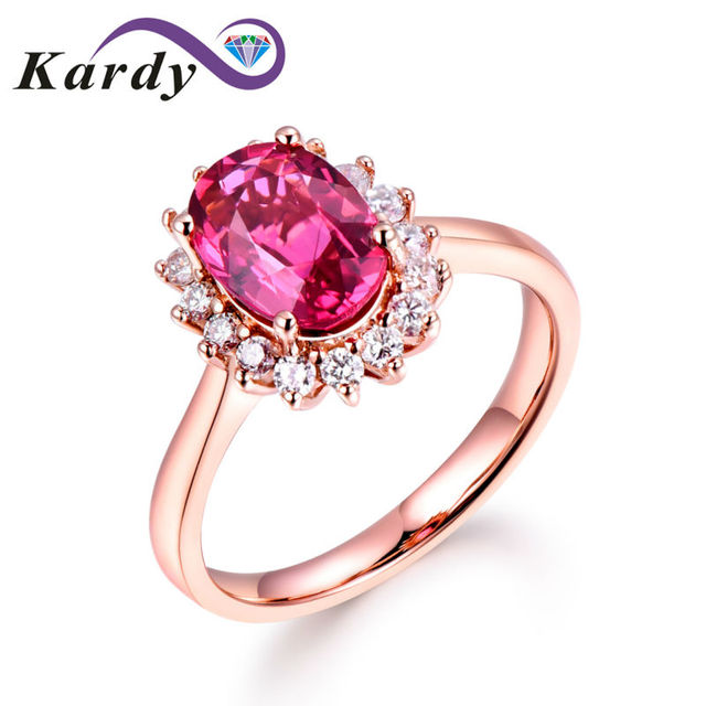 Gorgeous Fashion 14k Solid Rose Gold South Africa Diamond Natural