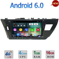 Quad Core Android 6 0 10 1 3G 4G WIFI DAB RDS USB Car DVD Multimedia