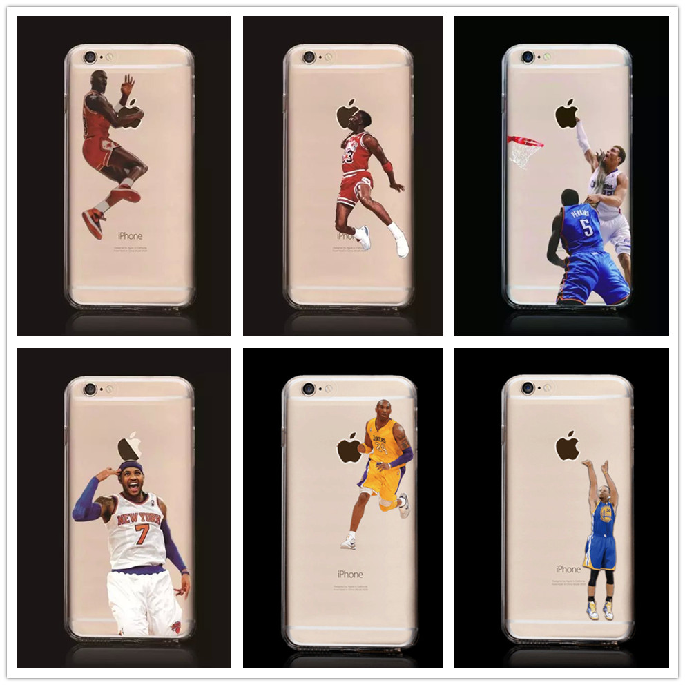 coque fundas cover tpu for iphone 5 5s se mobile phone cover case nba basketball star photos. Black Bedroom Furniture Sets. Home Design Ideas