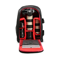Multi functional Waterproof Camera Backpack Laptop Video Case DSLR Camera Bag for Nikon Canon Sony Digital Camera JUN14