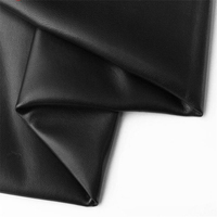 hide black first layer sheep leather fabric diy handmade ultra thin clothing real leather quality Genuine Leather