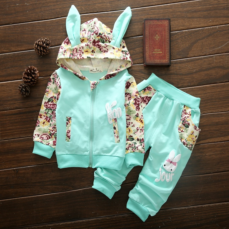 Cut Children Clothes 2017 Autumn Autumn Kids Girls Clothes Set Coat+Pant Outfits Girls Sport Suit Toddler Girls Clothing Sets hurave winter sport suits children clothing girls set kids clothes brand girls clothing toddler 2 pcs jacket pant