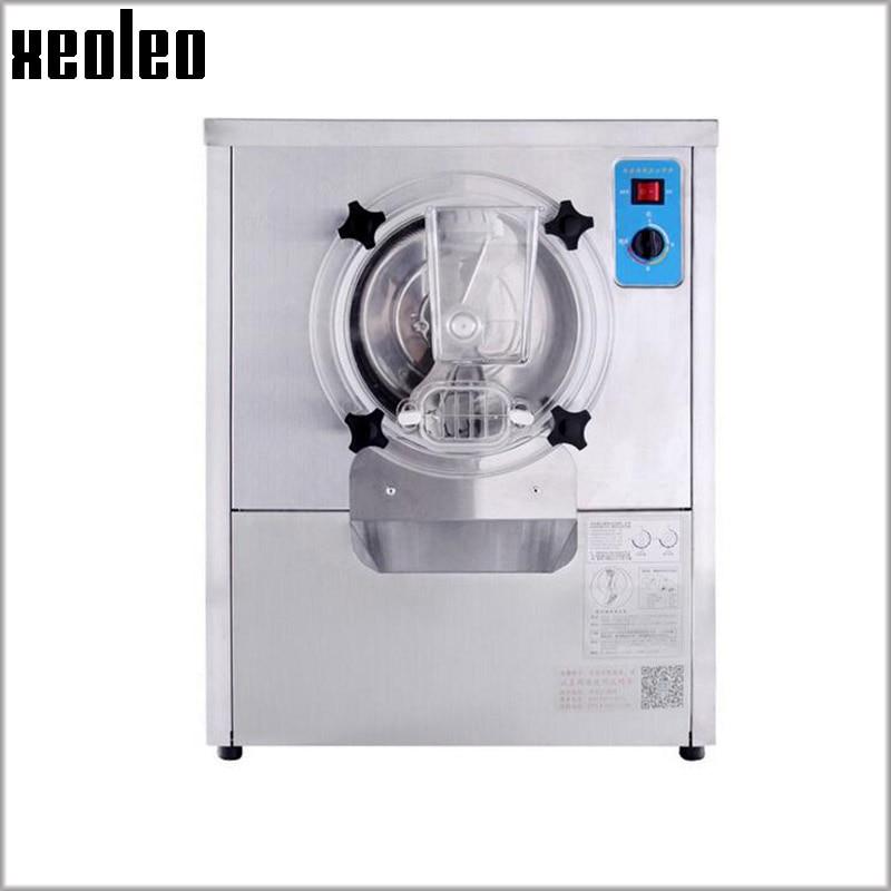 Xeoleo Hard Ice cream maker Commercial Italy Yogurt Ice cream machine 12L/H 1500W Automatic Yogurt machine Adjustable hardness