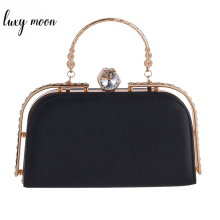 Women Handbags Fashion Casual PU Evening Bag Day Clutches Women's Purse Wallet Wedding Bags Crystal Female Clutch bolsas feminia