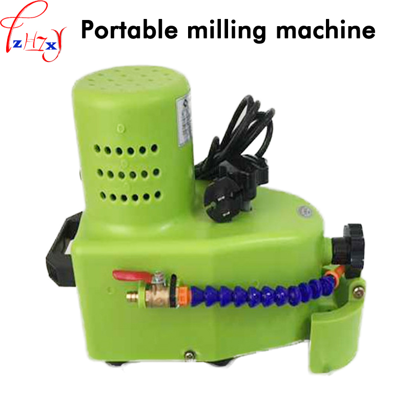 110220V 1PC Small Portable Glass Grinding Machine Can Grinding Glass Straight Edge, Round Edge, Hypotenuse Tile Edging Machine