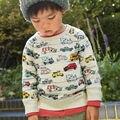 Calidad 100% de rizo de algodón suéteres nuevo 2017 marca baby boys clothing niños ropa infantil chicos sudadera camisetas sudaderas niños