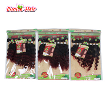 цены 8pcs/lot Unprocessed Virgin afro kinky curly hair brazilian deep weave short human ombre hair weave jerry curly hair bundles uk