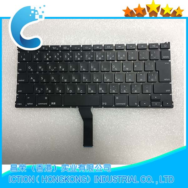 10pcs/lot Brand New A1466 A1369 Japan Keyboard for Macbook Air 13 A1466 A1369 Japanese Keyboard 2011- 2015 Years hsw rechargeable battery for apple for macbook air core i5 1 6 13 a1369 mid 2011 a1405 a1466 2012