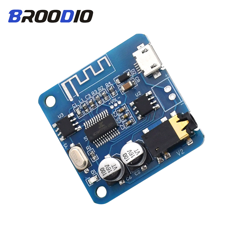 Bluetooth Decoder Board Lossless Car Speaker Audio Amplifier Board Modified Bluetooth 5.0 Stereo Receiver 5V MP3 Decoding Module