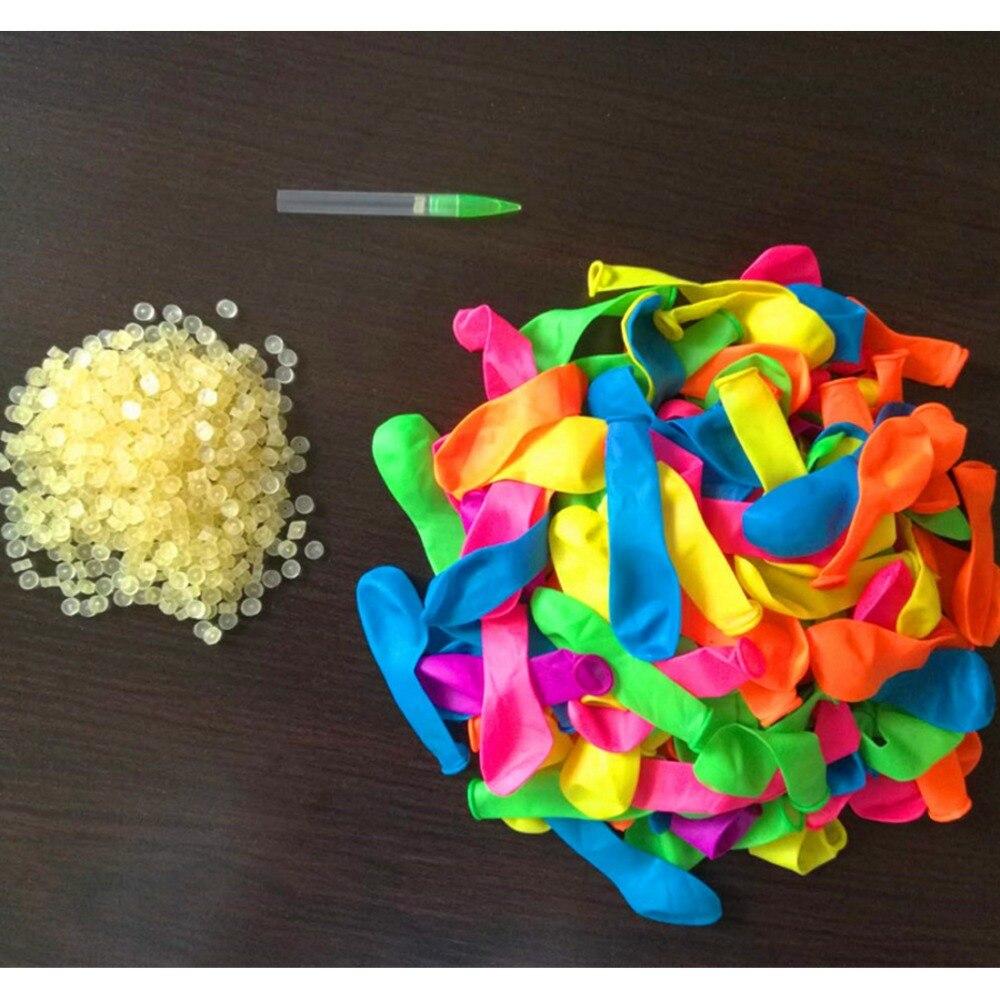 Zhenwei Water Balloons 500 Pcs  Latex Rubbers Balloons Refill Bag Bombs Beach  Summer Outdoor Sport Toy  Children Gift