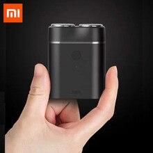 Neueste Xiaomi Mijia Männer Elektrischen Rasierer Nass/Trocken Rasieren IPX7 Wasserdichte Wiederaufladbare Mini Körper Japan Stahl Deutsch Technische Moto