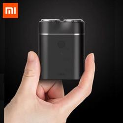 Nuevo Xiaomi Mijia hombres Afeitadora eléctrica húmedo/seco de IPX7 impermeable recargable Mini cuerpo Japón acero técnica Moto