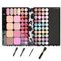 Profissional 72 cor beleza cosméticos sombra Palette Set 44 Eyeshadow + 20 Lip Gloss 8 de Blush maquiagem kits / Set